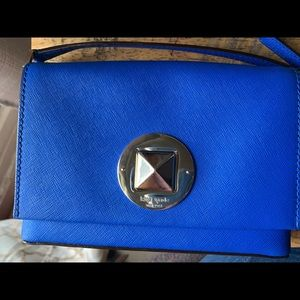Kate spade royal blue crossbody